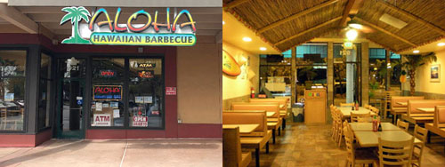 Aloha! From Aloha Hawaiian Barbecue In Salinas, CA